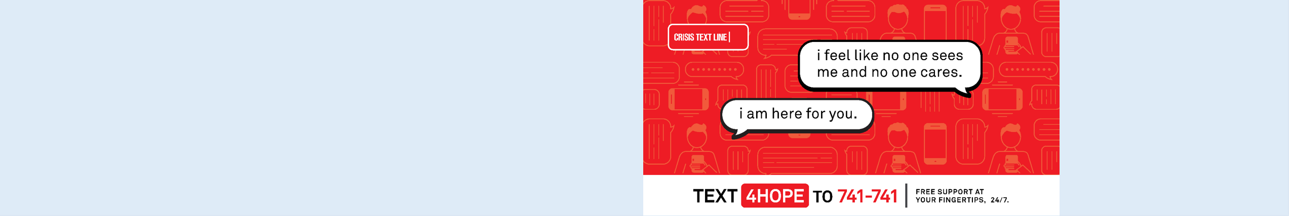 Generic images of people texting on their phones
